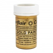 Sugarflair Gold Paint 20g