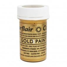 Sugarflair Gold Paint 20g