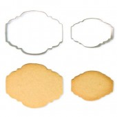 PME Cookie & Cake Plaque Cutters Style 2 - Set/2