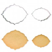 PME Cookie & Cake Plaque Cutters Style 6 - Set/2