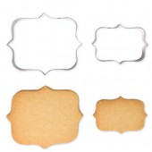 PME Cookie & Cake Plaque Cutters Style 1 - Set/2
