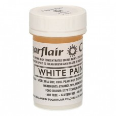 Sugarflair White Paint 20g