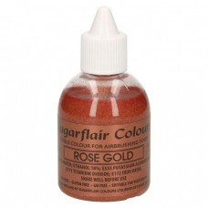 Sugarflair Airbrush Rose Gold 60ml