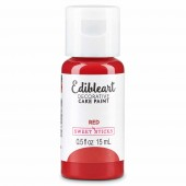 Edible Art Paint - Red 15ml