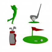 FMM Large Hole in One Golf Tappits