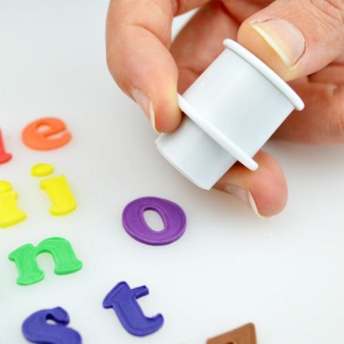 Mini Cake Star Easy Push Alphabet Cutters Lower Case