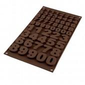 SilikoMart Choco Numbers Mould
