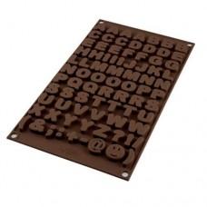 SilikoMart Choco Alphabet Mould