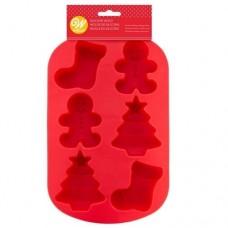 Wilton Silicone Christmas Mould