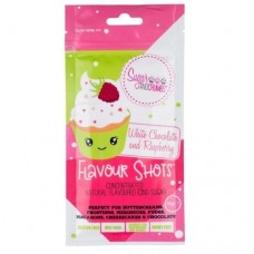 Flavour Shots! Concentrated Flavoured Icing Sugar - White Chocolate & Raspberry