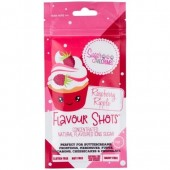 Flavour Shots! Concentrated Flavoured Icing Sugar - Raspberry Ripple