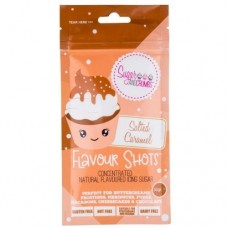 Flavour Shots! Concentrated Flavoured Icing Sugar - Salted Caramel