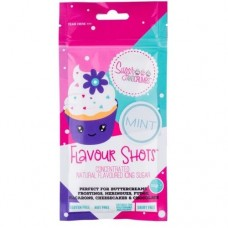 Flavour Shots! Concentrated Flavoured Icing Sugar - Mint