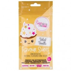 Flavour Shots! Concentrated Flavoured Icing Sugar - Velvet Vanilla