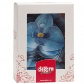 Dekora Blue Wafer Orchids Box/10