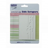 PME Pattern Edge Side Scrapers Set/4