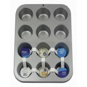 PME Non-Stick 12 Cup Muffin Tin