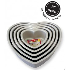 "8"" PME Heart Tin"