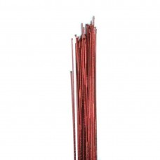 Hamilworth 24g Red Metallic Wires Pk/50