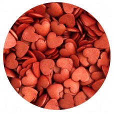 Red Glimmer Hearts 65g