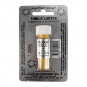 Sugarflair Lustre Dust Radiant Gold