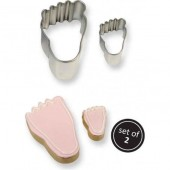 PME Foot Cookie Cutters Set/2