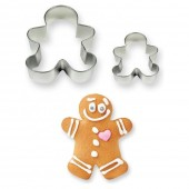 PME Gingerbread Man Cookie Cutters Set/2