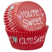 Wilton You're Sweet Buncases Pk/75