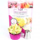 Nifty 3 Petal Cream Tulip Nozzle