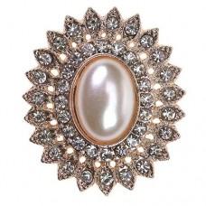 Rose Gold Tesoro Embellishment 30mm