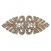 Rose Gold Nouveau Embellishment 55mm