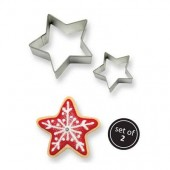 PME Cookie Star Cutters Set/2