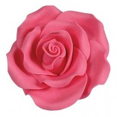 63mm Bright Pink Sugar Soft Roses Pk/8