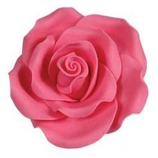63mm Bright Pink Sugar Soft Roses Pk/8