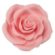 63mm Light Pink Sugar Soft Roses Pk/8