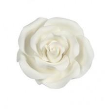 38mm White Sugar Soft Roses Pk/20