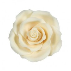 38mm Ivory Sugar Soft Roses Pk/20