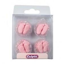 Pink Baby Feet Pk/12