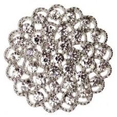 Diamante Filigree Embellishment 35mm