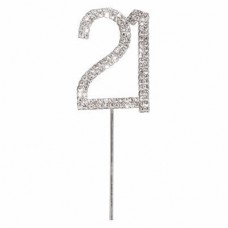 Diamante '21' topper