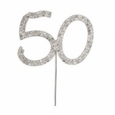 Diamante '50' topper