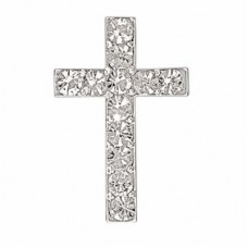 Small Diamante Cross 20mm