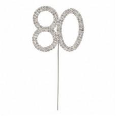 Diamante '80' topper