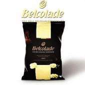1kg Belcolade Belgian White Chocolate 28%
