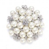 Pearl Cluster Embellishment 50mm