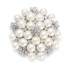 Pearl Cluster Embellishment 50mm
