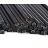 "6"" Black Cake Pop Sticks Pk/50"