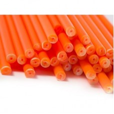 "6"" Orange Cake Pop Sticks Pk/50"