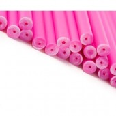 "6"" Pink Cake Pop Sticks Pk/50"