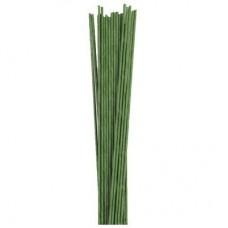 Hamilworth 24g Green Wires Pk/50